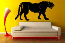 Pantera Asian Woods Hunter Animal Decor Wall MURAL Vinyl Art Sticker M336