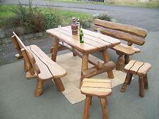 Garten Tische U0026 Bank Sets Aus Holz Mit Bis Zu 10 Sitzplätzen