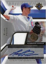Z) 2004 Upper Deck Ultimate Collection Mark Prior Jersey Auto 40/50 Chicago Cubs
