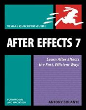 After Effects 7 for Windows and Macintosh: Visual QuickPro Guide (Visual Quick,