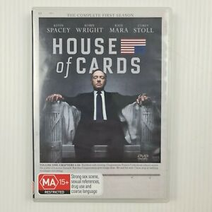 House Of Cards : Season 1 DVD - 4-Disc Set - Region 2,4 - TRACKED POST