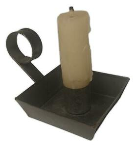 "Mama's Taper Candle Holder, 2.5"" x 2.5"" Small Metal Holder, by the Country House"