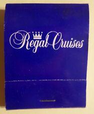 Regal Cruises . 1990's Full Match Book Ship Ocean Liner Boat Empress Olympia