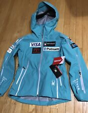 NEW 2018 US Ski Team Spyder Shell Jacket Women's L