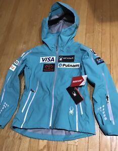 NEW 2018 US Ski Team Spyder Shell Jacket Women's L