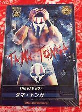 "New Japan Pro-Wrestling ""The Bad Boy"" Trading Card Tama Tonga NJPW Bullet"