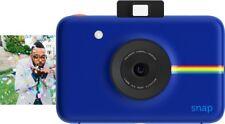 Polaroid - Snap 10.0-Megapixel Instant Print Digital Camera - Blue - (VG - READ)