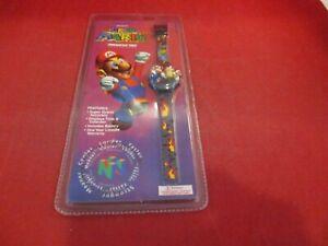 Super Mario 64 Nintendo 64 N64 Promotional Watch Mario & Bowser Kid's Watch NEW!