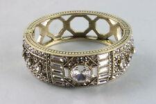 "S/M * New * Hsn $ 199.95 Gorgeous Heidi Daus Crystal Bracelet ""Lavish Layers"""