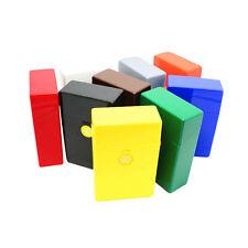 Plastic Flip Open Tobacco Box Cigarette Storage Case Holder For 20 Cigarette