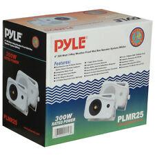 PAIR OF SPEAKERS PYLE PLMR25 21 CM 300 WATTS MULTI USE DISCO TABLET IPHONE CAR
