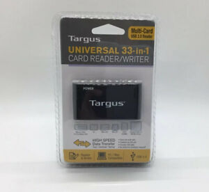 Targus Universal 33 In 1 Card Reader / Writer, PC & Mac Compatible, New, NIP