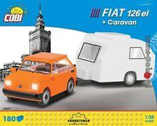 COBI  Fiat 126 el. + Caravan / 24591 / 180  blocks  toys  auto  car