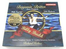 Benjamin Britten, Billy Budd Chandos CD Set, Brand New, Sealed
