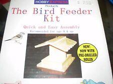 Hobby Express 60001 The Bird Feeder Kit Pre-Drilled Holes New Nib