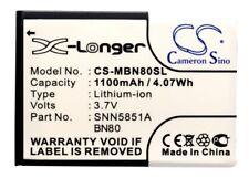 BN70  BN80  SNN5851  SNN5851A Battery for Motorola Backflip  Motus  ME600 MB300