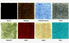 BROWN OR BLUE-CUT-TO-FIT WALL TO WALL  BATHROOM CARPET--RUGS--- SIZE = 5 X 8 G
