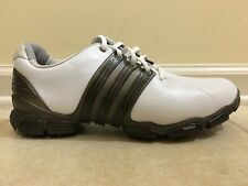 online store 30849 4c69a NEW ADIDAS MENS 816335 TOUR360 4.0 WHITE GOLF SHOES US 9.5 MEDIUM 100%  AUTHENTIC