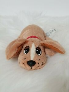 """Pound Puppies 6"""" Newborn Pound Puppy Brown Plush"""