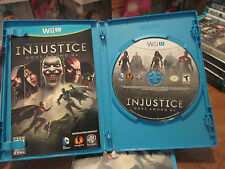 Injustice: Gods Among Us (Nintendo Wii U, 2013) VIDEOGAME  NEW BUT OPEN