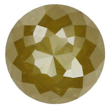 Natural Loose Diamond Green Yellow Color Round I3 Clarity 5.30 MM 0.83 Ct L4943