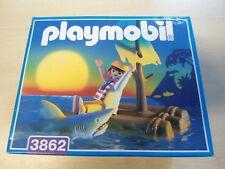 "Playmobil set 3862 ""pirata con balsa"" rara vez/Nuevo"