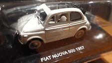 modellino modello auto scala 1:43 fiat nuova 500 1957 die-cast sportelli controv