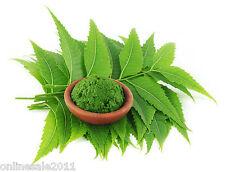 100g Dry Neem Leaf Powder Azadirachta Indica Neem Churna Organic Dried Free Ship