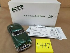 Danbury Mint 1949 Oldsmobile 88 Coupe 1/24 Die-cast with Box & Title