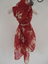 "New red ""laborador"" scarf by gift warehouse"