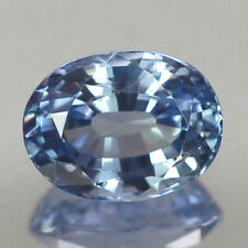 3.05CT CERTIFIED VVS UNHEATED OVAL BLUE CEYLON SAPPHIRE NATURAL