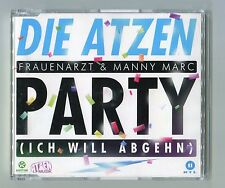 Die Atzen cd-maxi PARTY (Ich will Abgehn) © 2012 German-2-track-CD Extended Mix