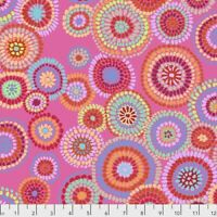 Mosaic Circles Pink Kaffe Fassett for the KaffeFassett CollectiveBTY 100%cotton