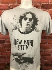 John Lennon New York T-Shirt Size Large Zion F213