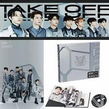 WAYV WAY V NCT Erstes 1st Mini-Album Take Off CD + Lyrics Booklet +Fotokarte Set
