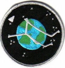 """Stargate Atlantis TV Series Project Logo Planet Embroidered Patch 3.5"""""""
