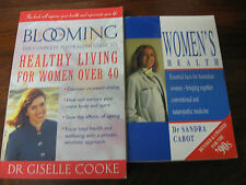 BLOOMING HEALTHY Women Over 40 LIVING GISELLE COOKE WOMEN'S HEALTH SANDRA CABOT
