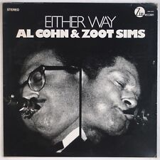 AL COHN & ZOOT SIMS: Either Way ZIM RECORDS Jazz LP VG++ Wax '76