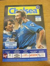 16/01/1999 Chelsea v Coventry City  . Thanks for viewing this item, buy with con