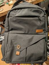 HapTim Multi-Function Baby Diaper Backpack Gray