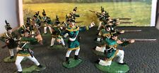RARE14-Conte Frontier USArmy War Of1812 ProPainted Plastic Figures 1/32-54mm Lot