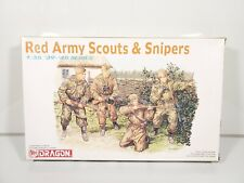 Dragon 6068 1/35 Red Army Scouts & Snipers Sealed Inside NEW NIOB