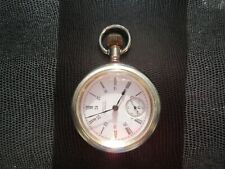 running Waltham size 18s antique pocket watch 15 jewel model 1883 Hunter working