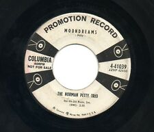 NORMAN PETTY TRIO 1957 Promo 45 Moondreams & Toy Boy Columbia 4-41039