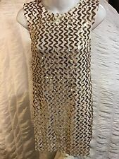 NWT Le Shack Tracy Feith woman dress size 4 made in USA