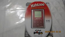 NEW Yahtzee Electronic Handheld Game Slim Pogo from 2009 Sealed FREE Ship!