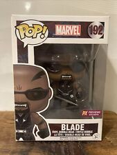 Funko Pop! Marvel Blade #192 PX Previews Exclusive Vinyl Figure w pop protector