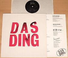 DAS DING  (TRL 1989 + OIS / Cliff Barnes, Die Mimmi's, Lotos, Pip / LP vg++/m-)