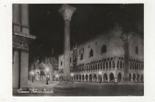 Venezia Palazzo Ducale 1950 RP Postcard Italy 560a