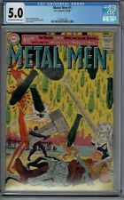 CGC 5.0 METAL MEN #1 DC 1963 1ST SERIES 4TH APPEARANCE CLASSIC ROSS ANDRU COVER